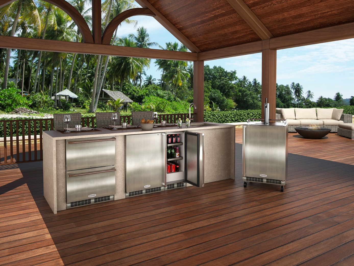 High Efficiency Outdoor Kitchens With Images Outdoor Kitchen Design Outdoor Kitchen Decor Outdoor Kitchen