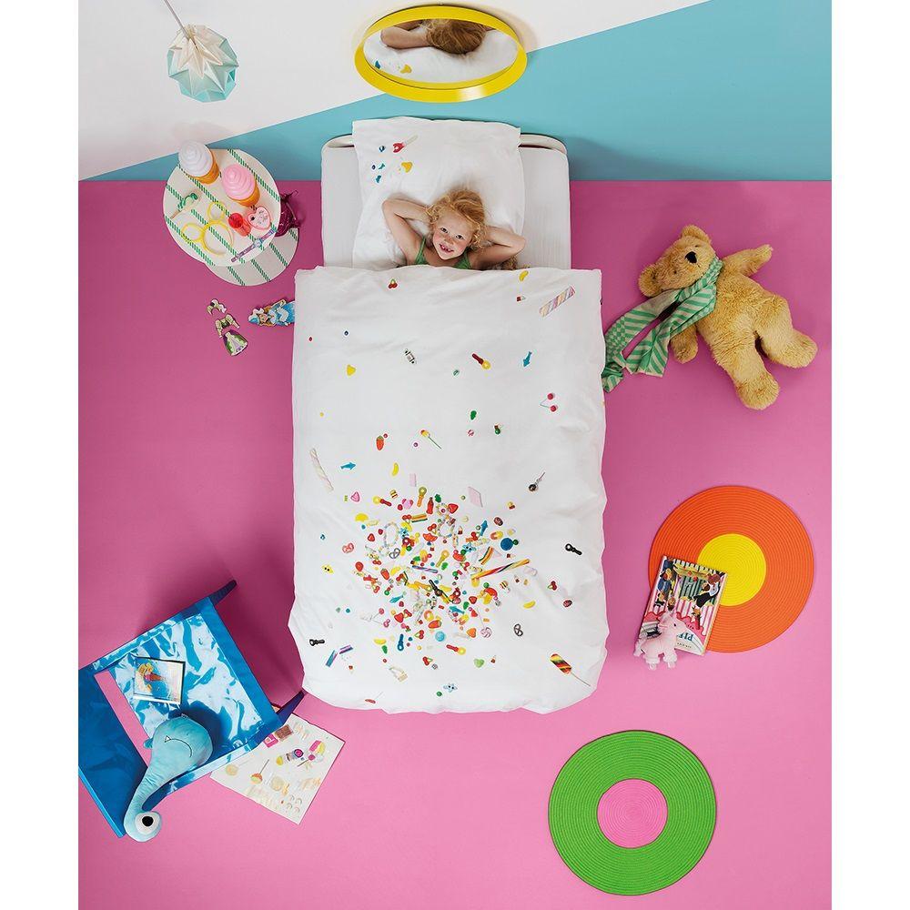 Quirky Bed Linen Part - 45: SNURK Childrens Candy Blast Duvet Bedding Set