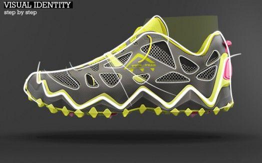 Retractable Spike Shoe Concept by Sebastien Genez