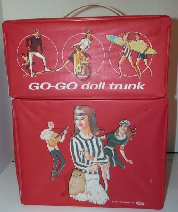 "Ideal ""Go-Go"" doll trunk"