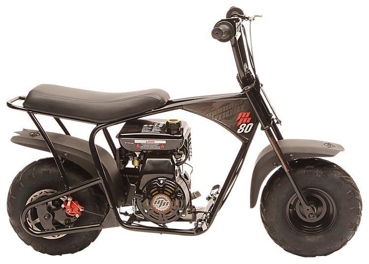 Monster moto 80cc mini bike mini bike for Bass pro shops monster fish