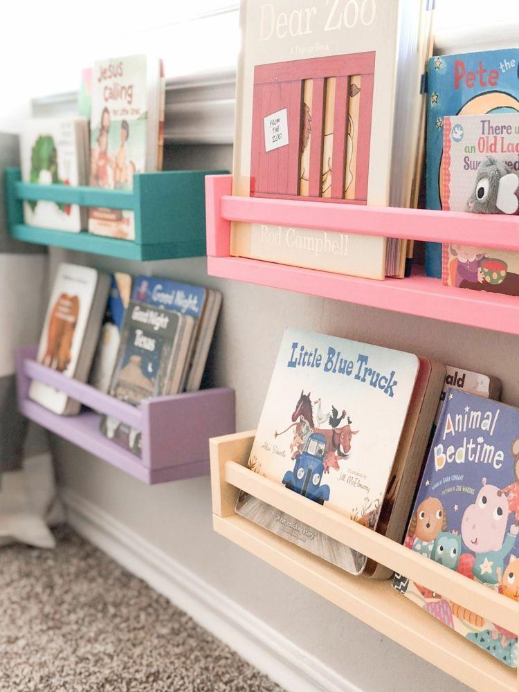 Bücher Aufbewahrung im Kinderzimmer – Kreativ Ordnung schaffen