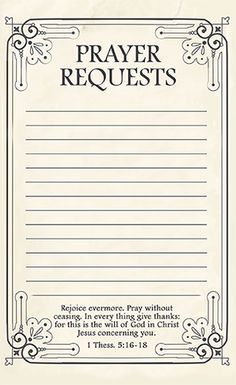 Prayer Request Form | Prayer Request Form With Picture Google Search Prayer Request