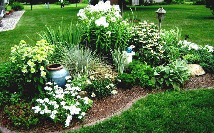 Parterre de fleurs 21 id es magnifiques pour le jardin contemporain parterres de fleurs - Arbuste contemporain ...