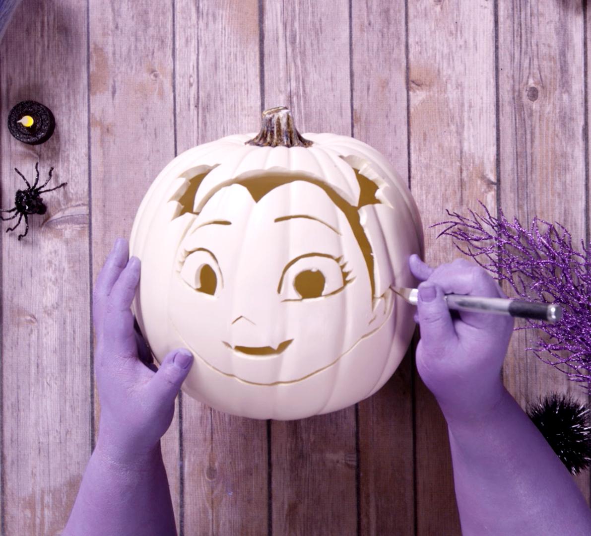 vampirina pumpkin template  Check out this fang-tastic Vampirina Pumpkin DIY and show ...