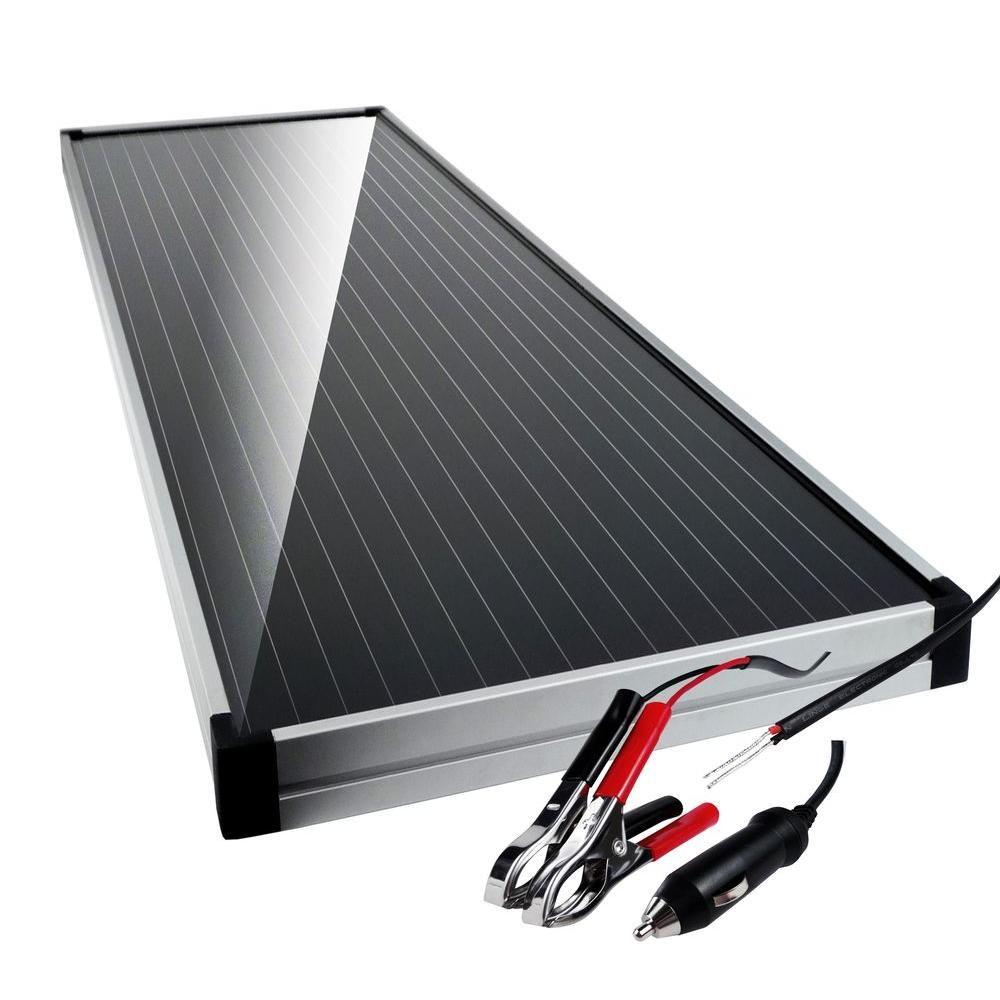 Schumacher 12 Volt Solar Battery Charger Maintainer With Charge Control Solar Battery Charger Solar Battery Car Battery Charger