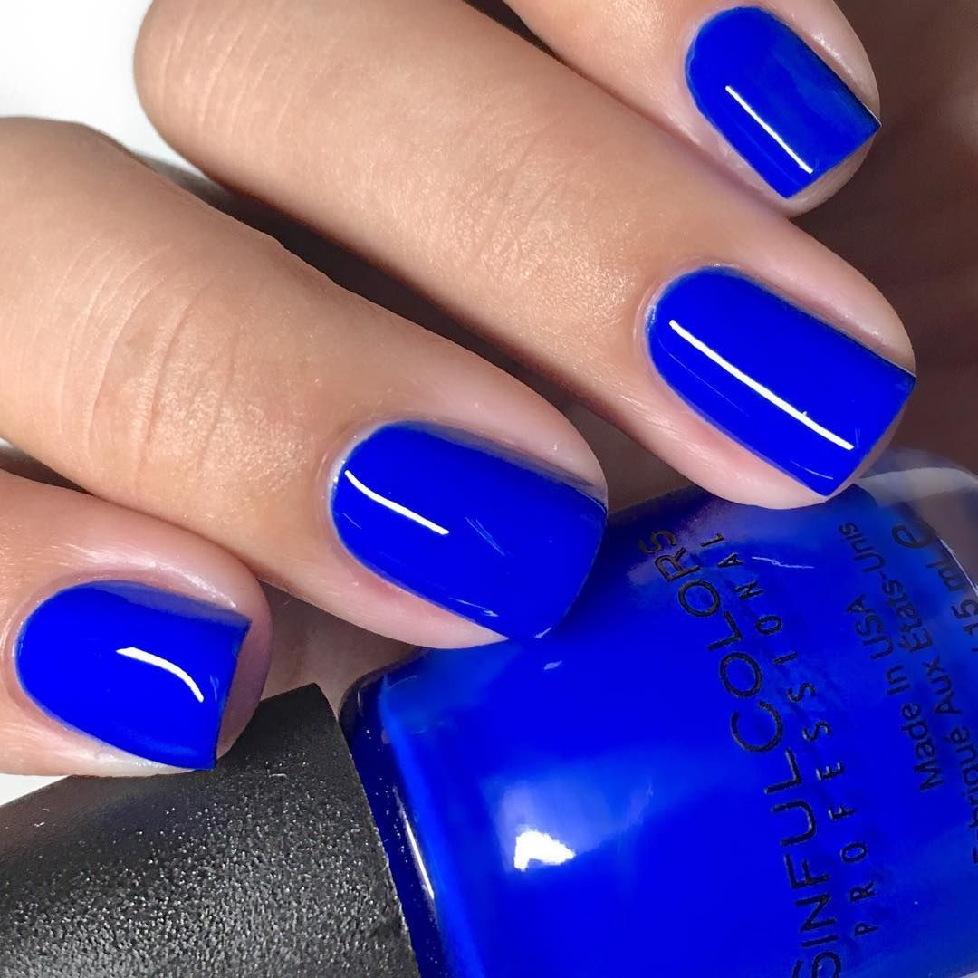 Blue Nails For Hannah Baker