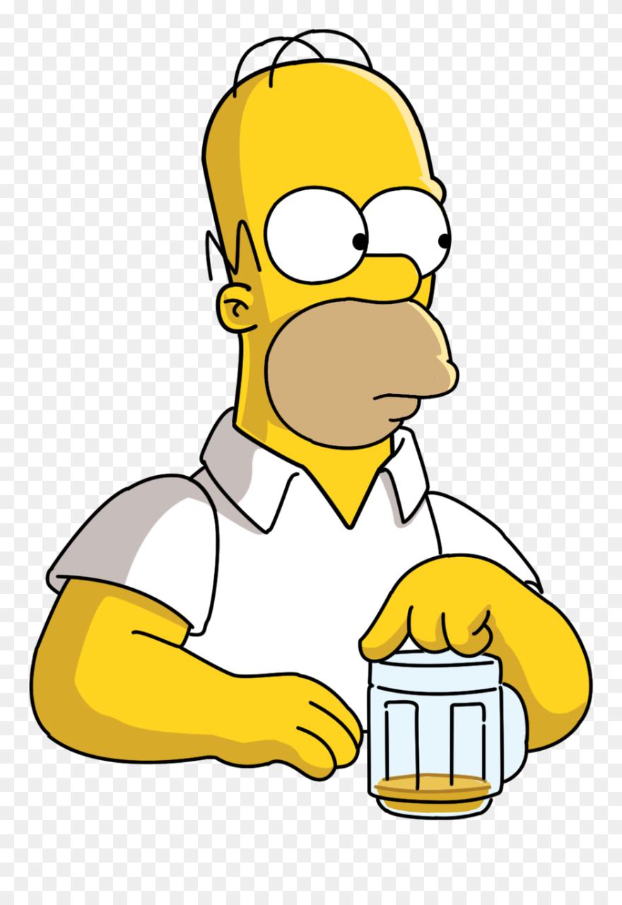 Https Www Pinclipart Com Picdir Middle 551 5510627 Bart Simpson Clipart Bark Homero Con Una Cerveza Png Homero Simpson Homero Cerveza Homero Simpson Cerveza