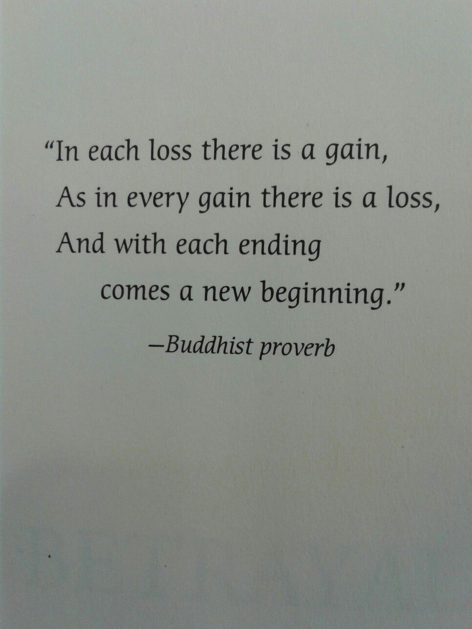 Loss Of Life Quotes Gains And Losses Beginnings And Endings  Quotes About Life And
