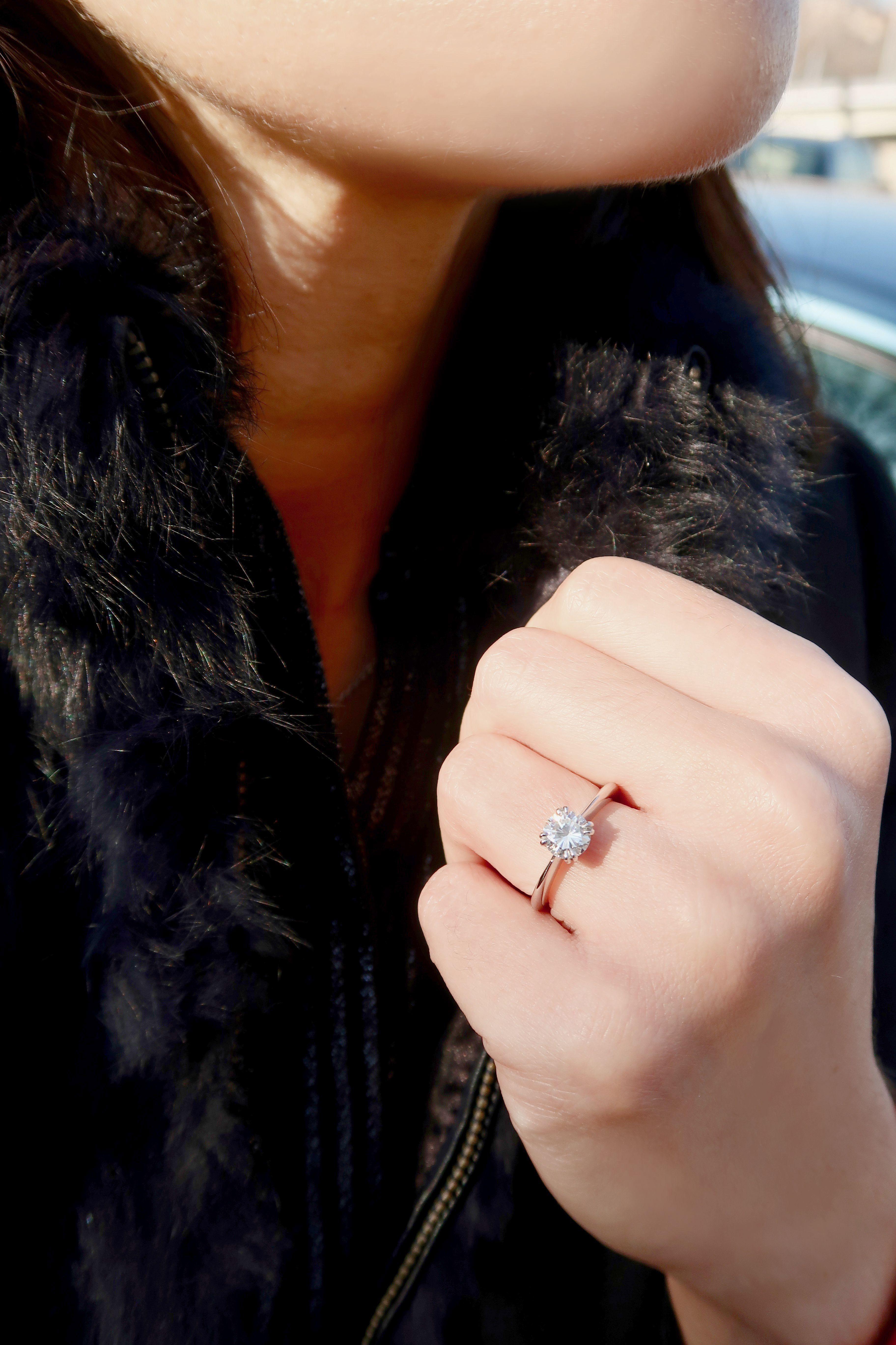 bague diamant 1 carat