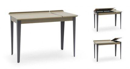 Tolix | Bureau Clapet Steel Flap Desk by Sebastian Bergne