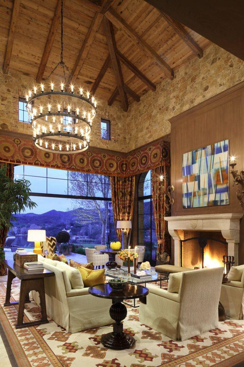 Tuscan Villa on Lake Sherwood