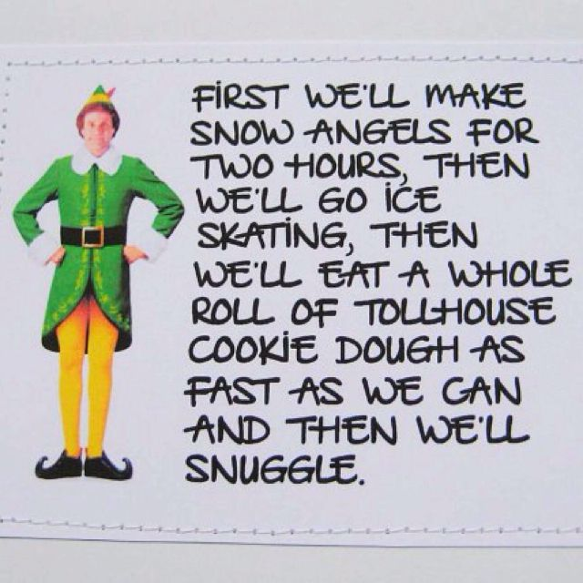 buddy the elf song movie amp book quotes pinterest