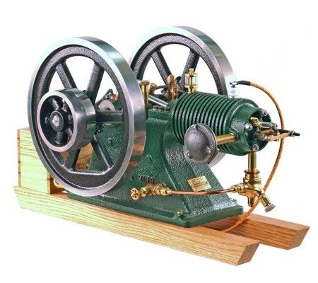 Air Cooled Red Wing Motor Pm Research Engineering Cool Stuff Steam Engine Model