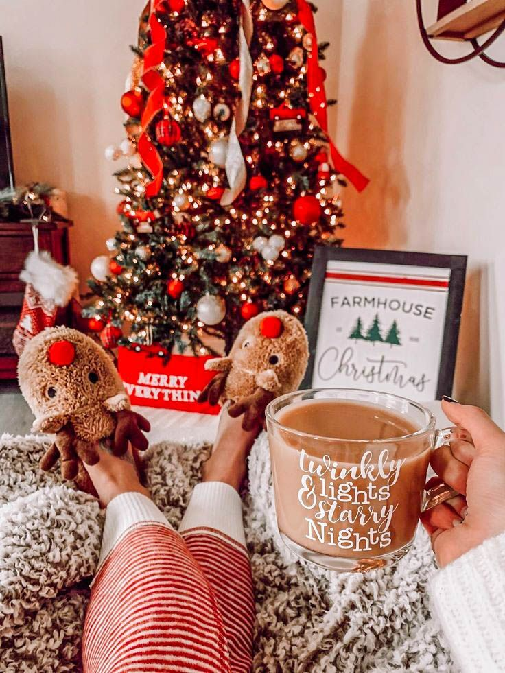 Cozy Christmas Photo