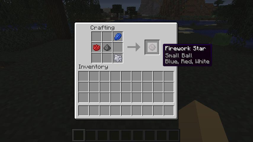 Fireworks Tutorial Minecraft Blog Minecraft Mods Minecraft Minecraft Fireworks