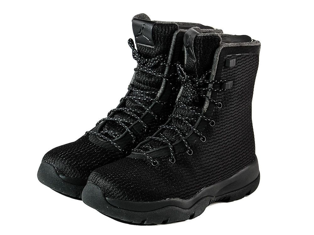 newest 287c9 89192 MENS NIKE AIR JORDAN FUTURE BOOT BLACK WATERPROOF SHOES 854554-002 -SZ 10.5   225  Nike  HikingTrail