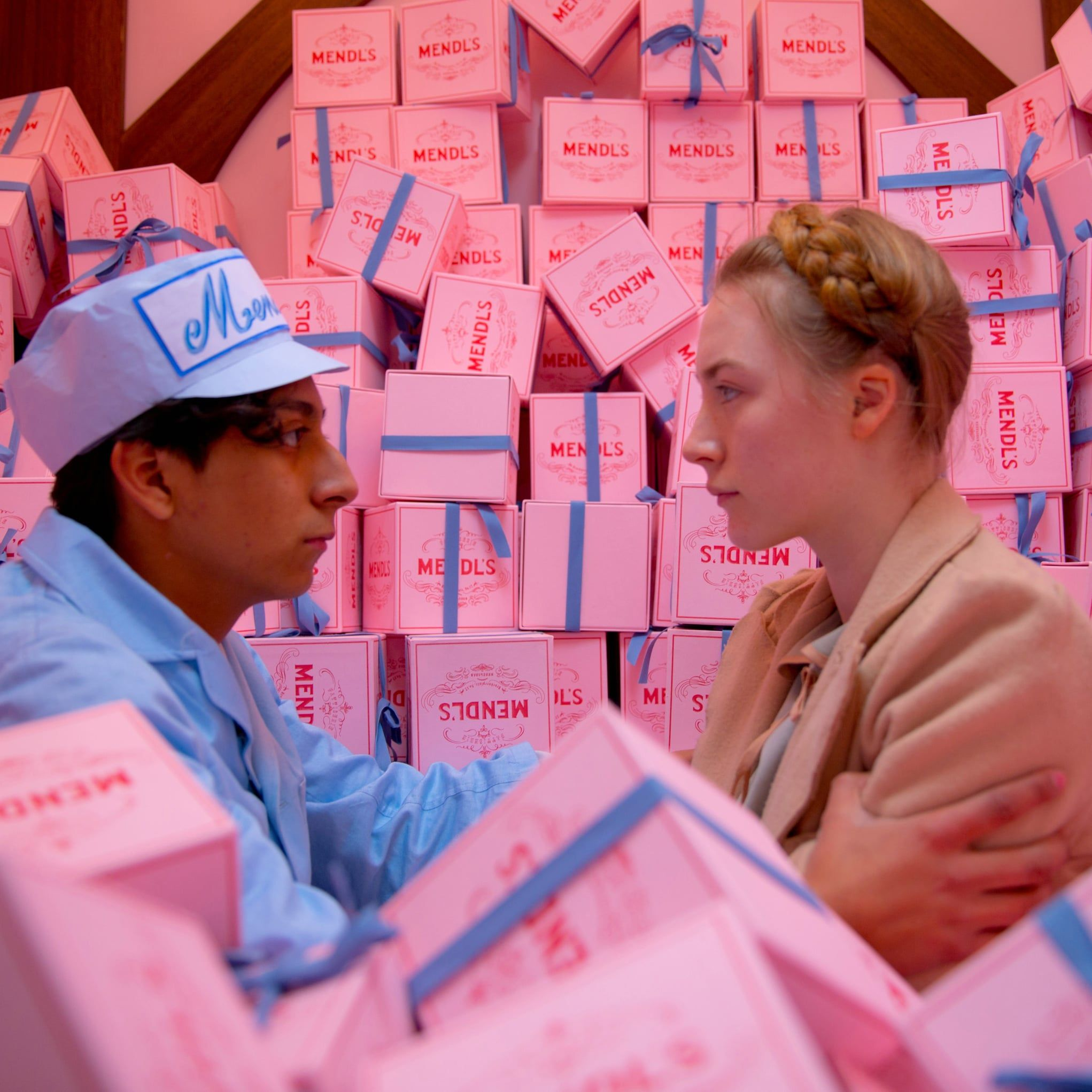 Colour in Film - The Work of Wes Anderson