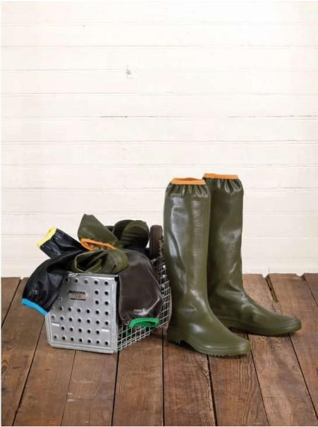 Rubber Pack - Waterproof Rain Boots that are easy to fold and pack-- Aigle Boots