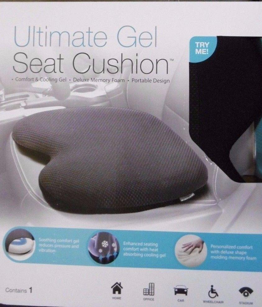 Winplus Ultimate Gel Seat Cushion Heat Absorbing Cooling Gel Molding