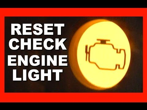 How To Reset Check Engine Light >> How To Reset Check Engine Light 4 Free Easy Ways To Clear
