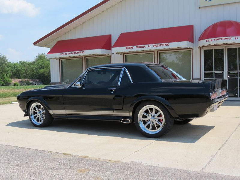Not An Official 1967 Shelby Mustang Coupe But A Resto Mod