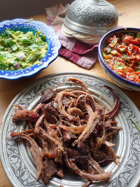 BBQ Smoked Beef Brisket Tacos by Girl Interrupted Eating, via Flickr