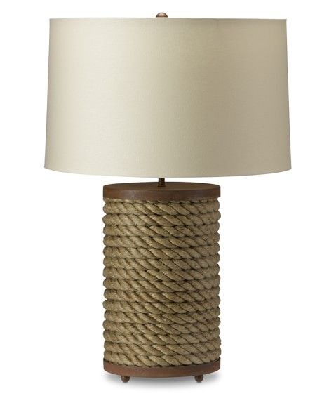 Williams Sonoma Rope Table Lamp Lamp Rope Table Lamps Table Lamp