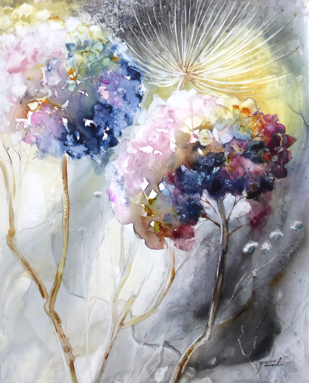 Galerie | Watercolor Painting | Aquarelle florale ...