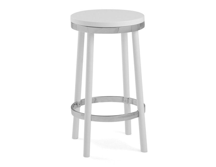 structube meg counter stool white