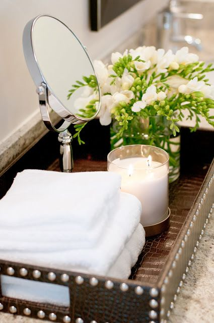 Pretty Bathroom Tray Style At Home Pinterest Trays
