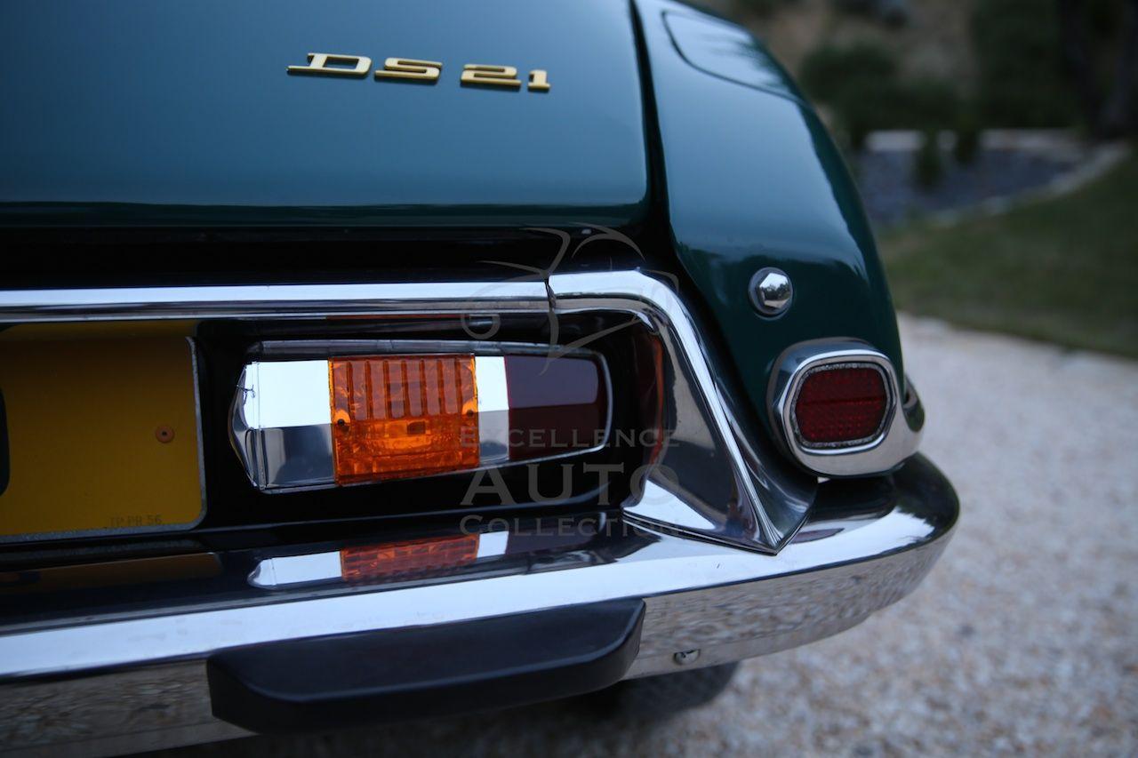 Citroen Ds21 Pallas Vert Hedera 1966 Carte Grise Boite De Vitesse Carburant