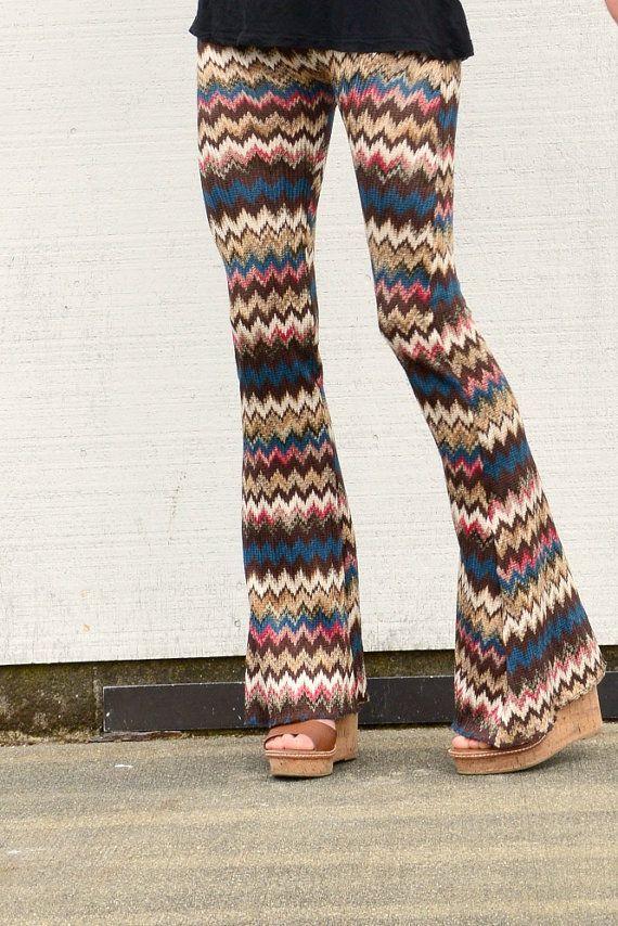 a93842385f9cd ... pants! CROCHET SWEATER KNIT chevron stripe boho beach by  lizajanehandmade