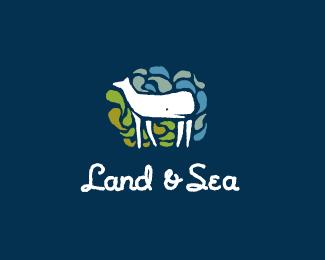 """Land & Sea"" Logo"