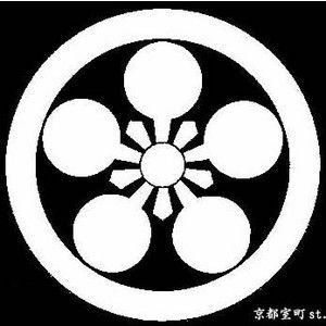 丸に加賀梅鉢 家紋 梅鉢 京都 浴衣
