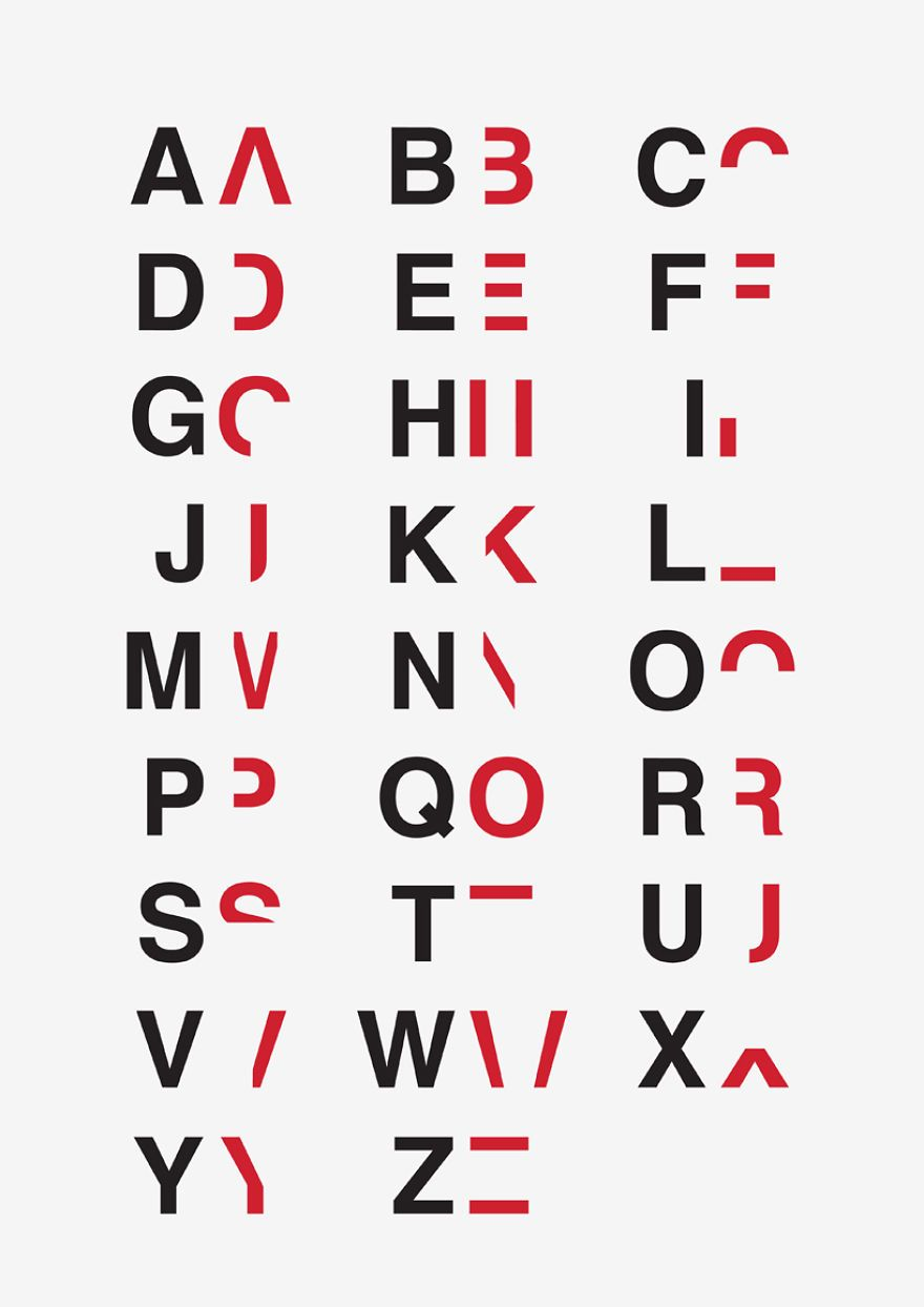 Dyslexic Typeface: I Created A Font To Show How Hard It Is To Read For Dyslexics | Bored Panda