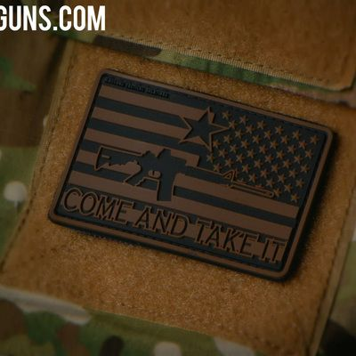 Come and take it pvc patch