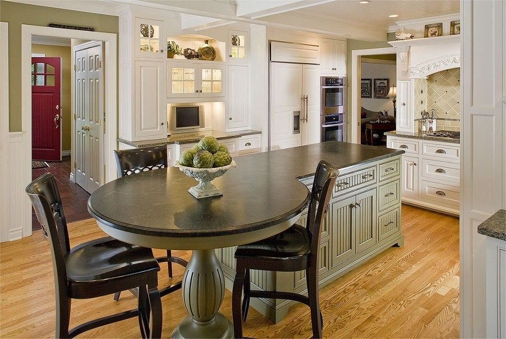 Round Kitchen Table Ideas With Good Design Mykitcheninterior Ideas For The House Pinterest