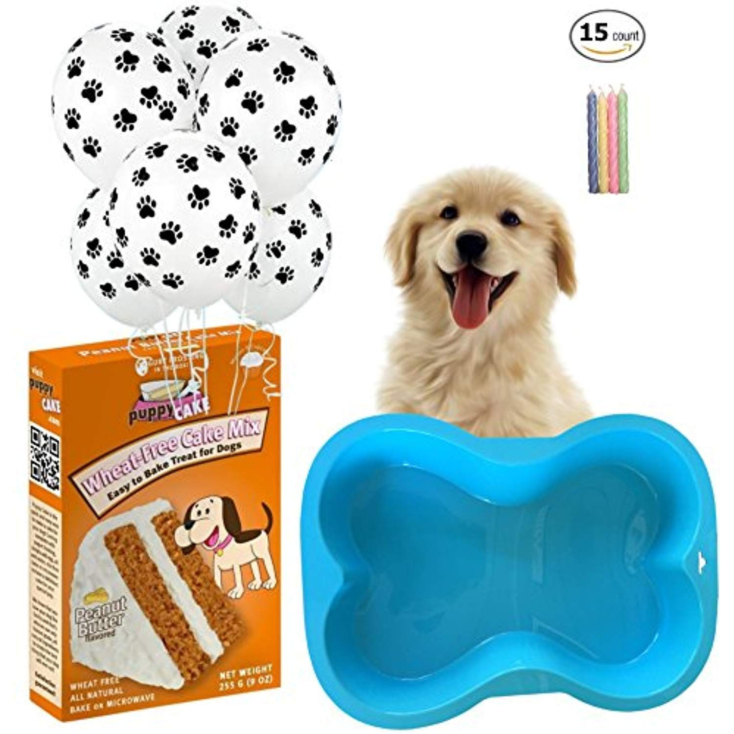 Ultimate Dog Birthday Party Supplies Kit
