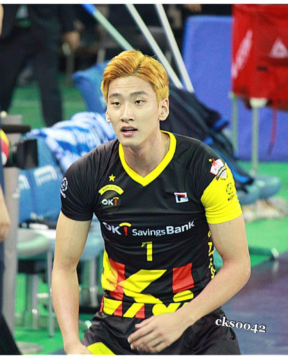 Song Myung Geun Songs Volleyball Team Mens Tops