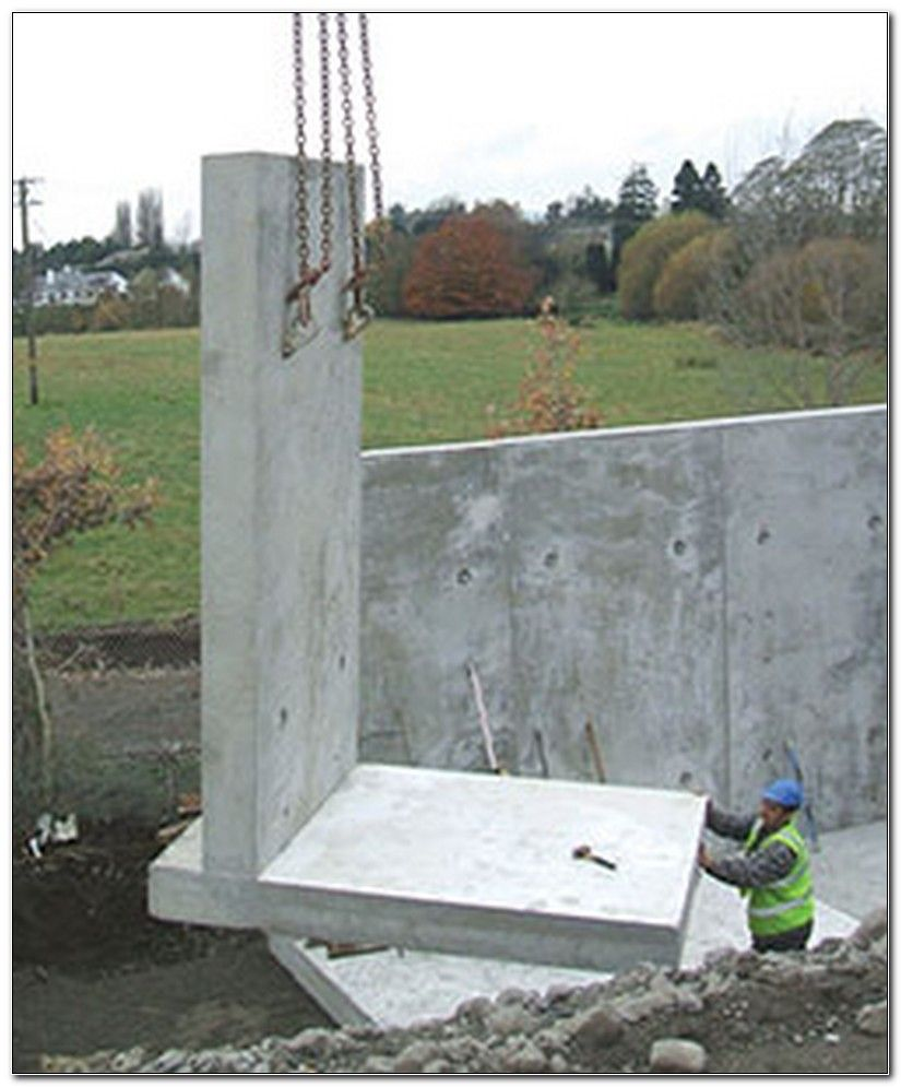 Precast Concrete Retaining Wall Units Architectuur