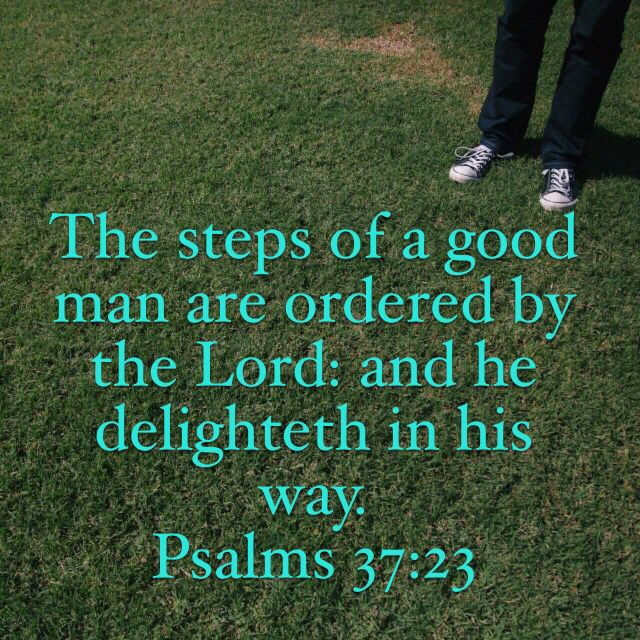 Thank you Lord for ordering my steps...#Faith