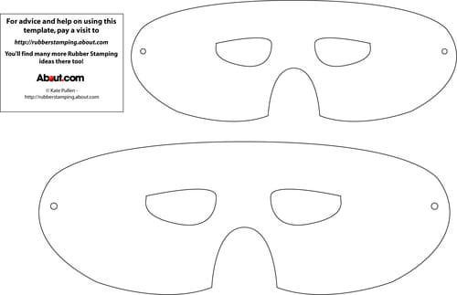 Mask Template gratis stencils\/leuke vormen Pinterest Mask - face masks templates