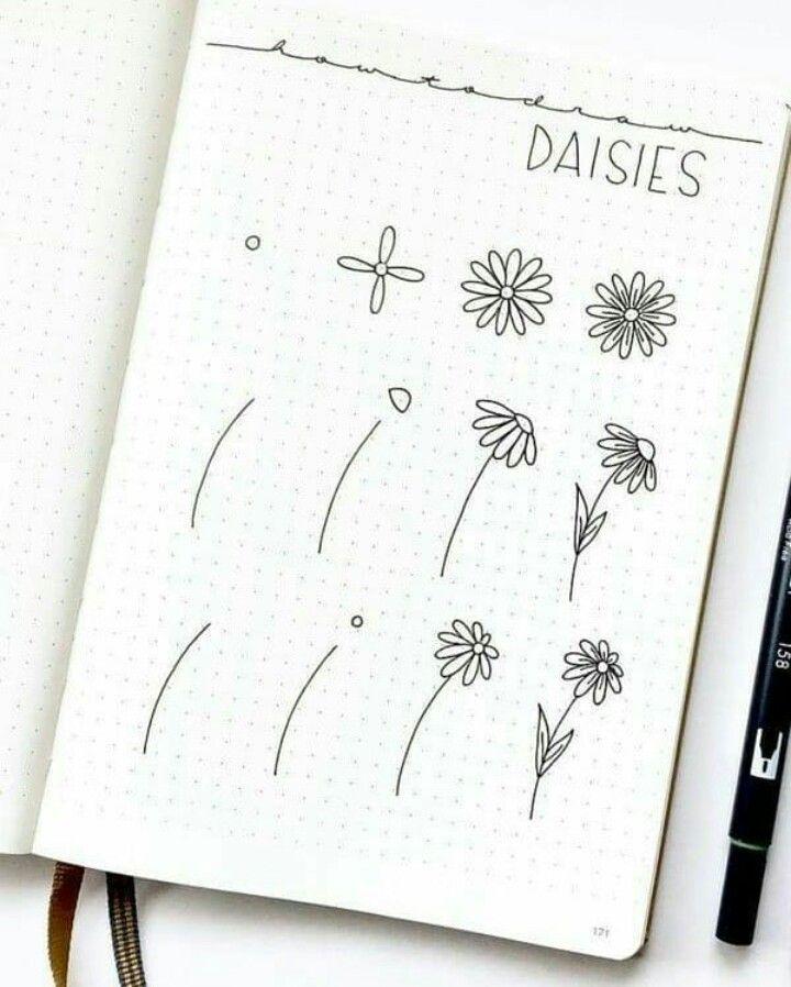 pinmariah najera on doodles in 2020  bullet journal