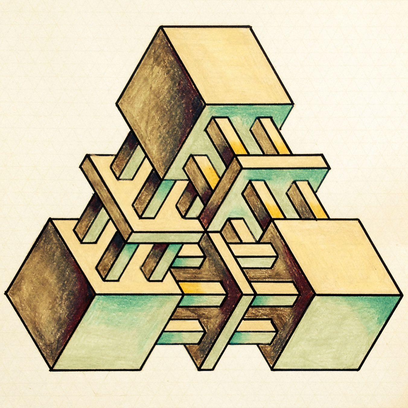 себе дала несуществующие геометрические фигуры картинки случае девушками