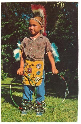 Native American Boy, Minnesota