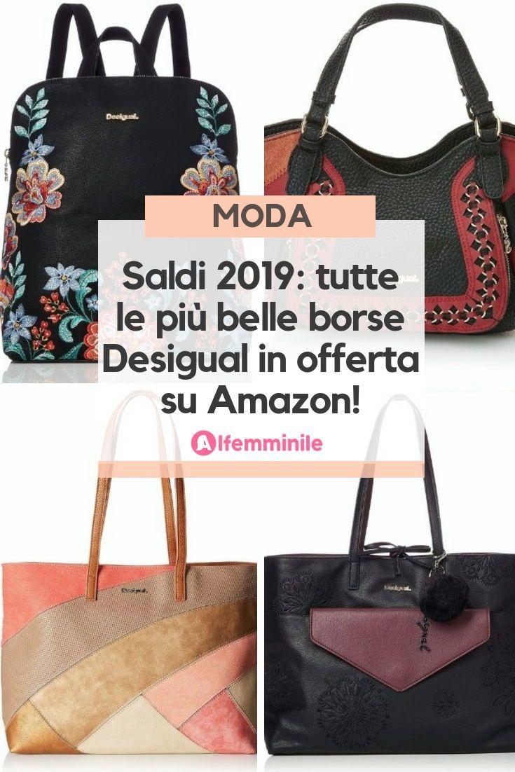 rivenditore all'ingrosso 94f6c a7a12 Saldi 2019: tutte le più belle borse Desigual in offerta su ...