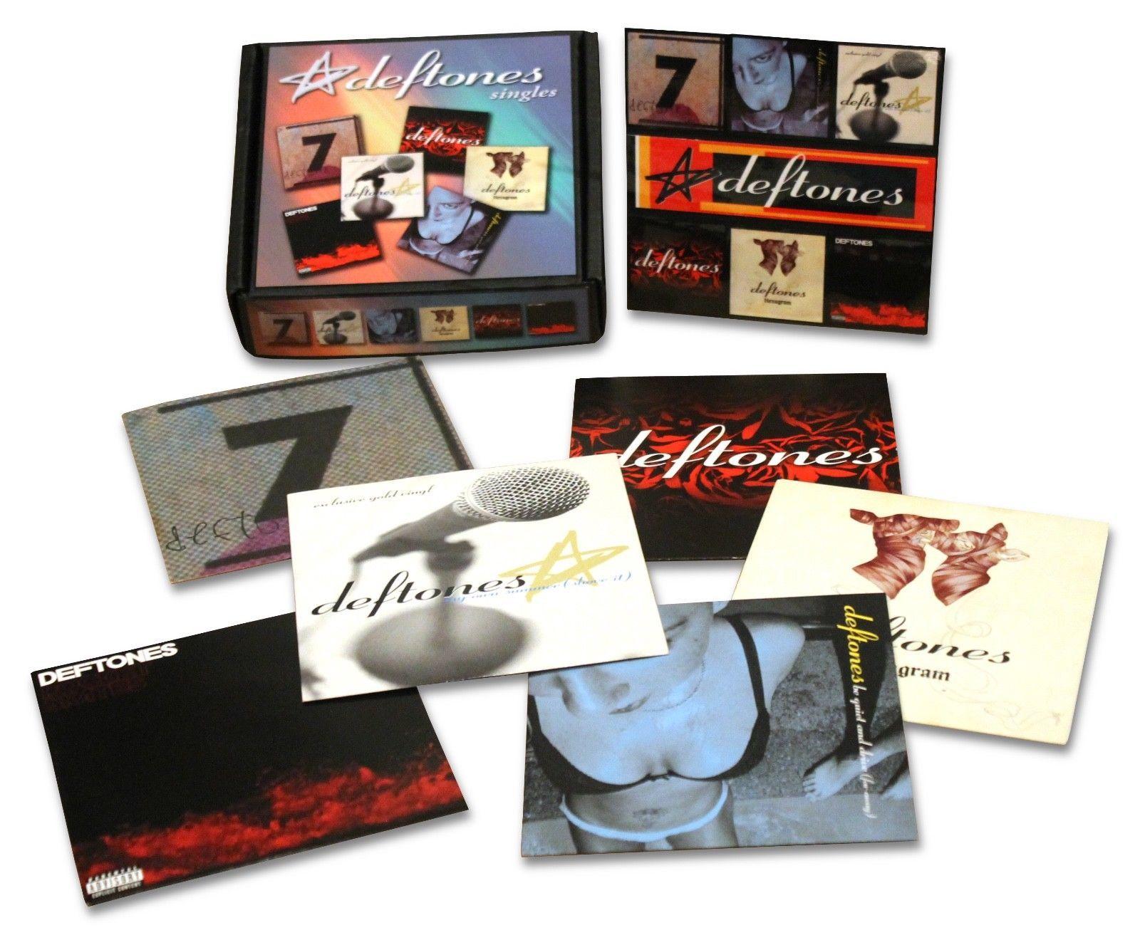Deftones 7 Vinyl Record Custom Box Set Includes 6 Promo Singles More Vinyl Records Custom Boxes Vinyl