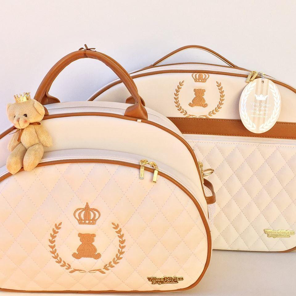 Mochila Maternidade Luxo Personalizada Com Nome Do Seu Bebê