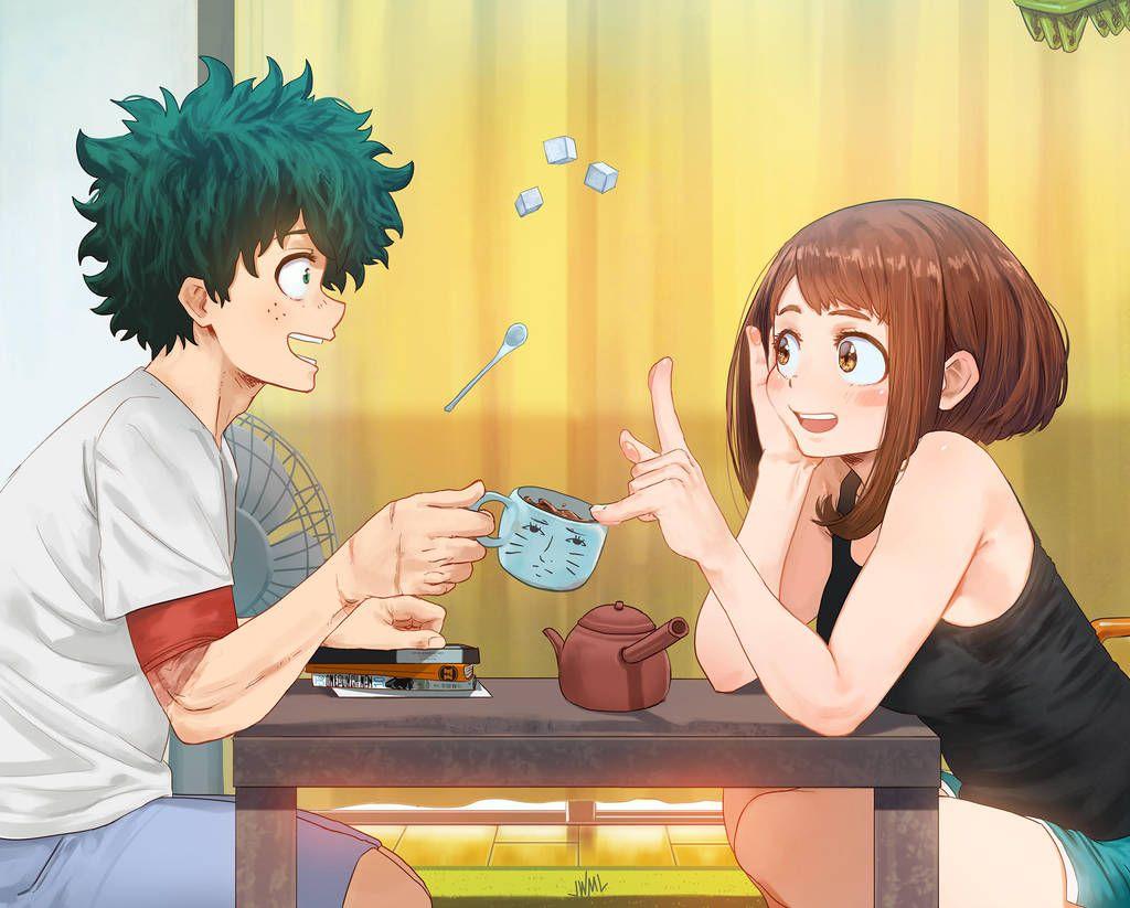 Ho Kago Tea Time By Steamytomato Boku No Hero Academia Hero Wallpaper Hero